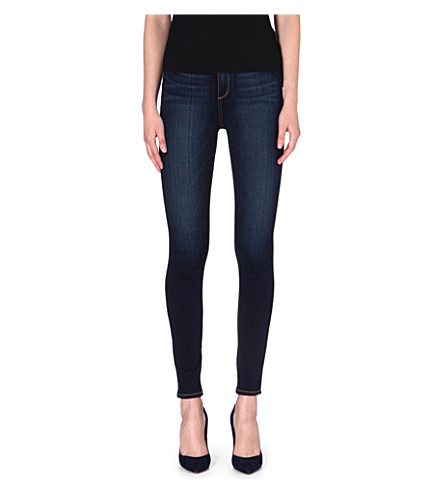 PAIGE DENIM Margot ultra-skinny high-rise jeans (Armstrong