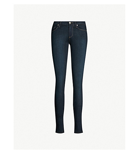PAIGE Leggy ultra-skinny mid-rise jeans (Mona