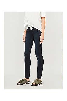 PAIGE DENIM Leggy ultra-skinny mid-rise jeans