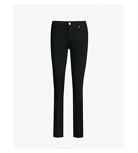 PAIGE Verdugo Ultra Skinny jeans (Black+shadow