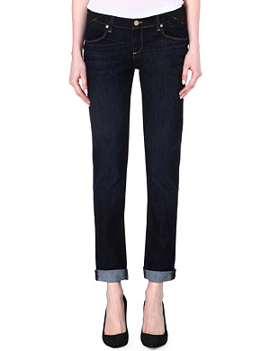 PAIGE DENIM Maternity Jimmy Jimmy boyfriend low-rise jeans