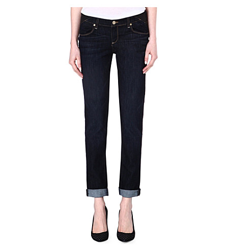 PAIGE Maternity Jimmy Jimmy boyfriend low-rise jeans (Rblwithcaus