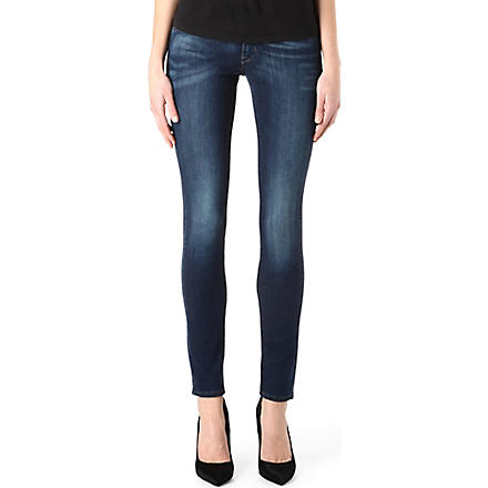 LEVI'S Demi Curve skinny mid-rise jeans (Lonestar