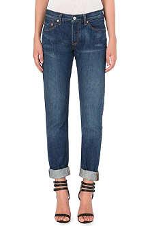 LEVI'S 501 boyfriend mid-rise jeans