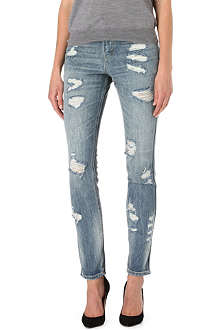 LEVI'S Authentic skinny high-rise jeans