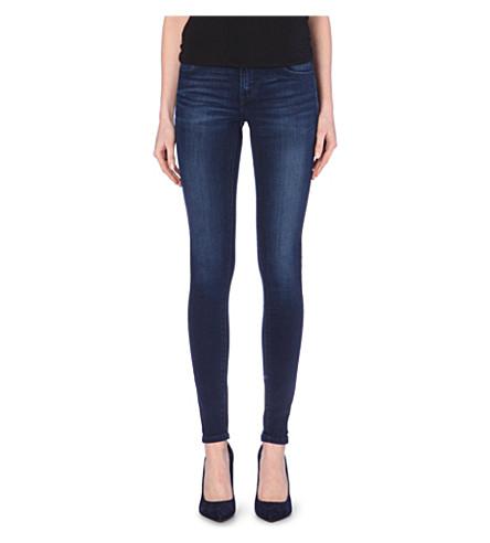 LEVI'S Super-skinny mid-rise jeans (Active indigo