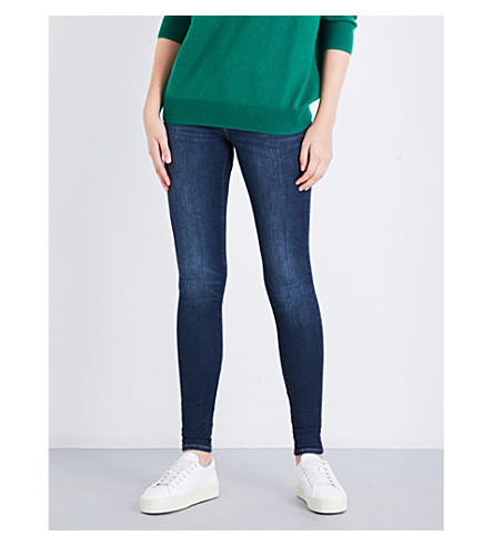 LEVI'S 710 super-skinny mid-rise jeans (Reign+or+shine