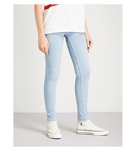 LEVI'S Innovation super-skinny mid-rise jeans (Winning+streak