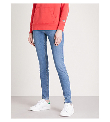 LEVI'S Innovation super-skinny mid-rise jeans (Chelsea+angels