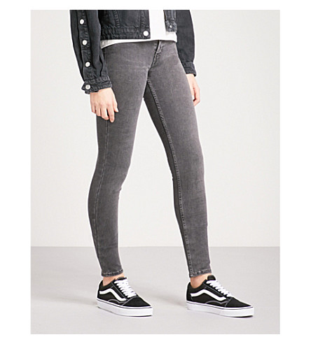 LEVI'S Innovation super-skinny mid-rise jeans (Fancy+that