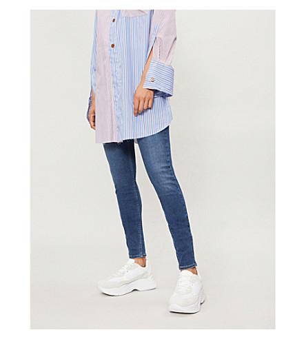 LEVI'S Mid-rise skinny jeans (Prestige+indigo