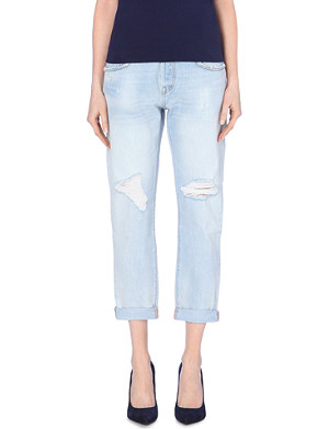 LEVI'S 501 straight mid-rise jeans