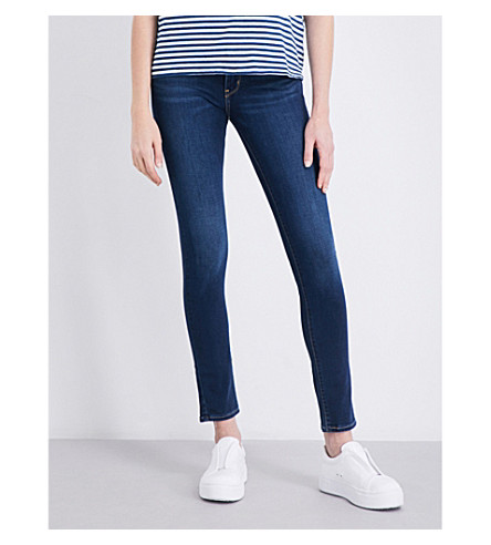 LEVI'S 711 skinny mid-rise jeans (Still+dreamin'