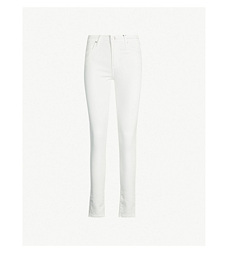 LEVI'S 721 high-rise skinny jeans (Western white
