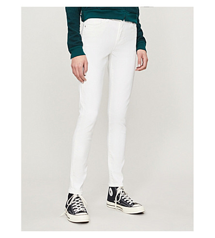 LEVI'S 721 super-skinny high-rise jeans (Western white