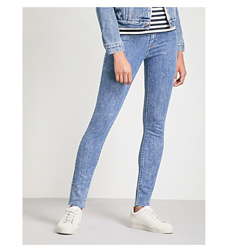 LEVI'S 721 skinny high-rise jeans (Charged+up
