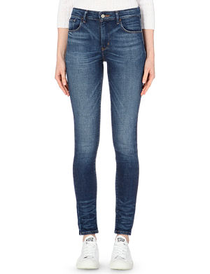 LEVI'S Skinny high-waist stretch-denim jeans