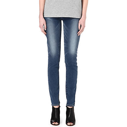 LEVI'S Revel Demi skinny mid-rise jeans (Sundried