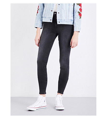 LEVI'S Mile High super-skinny high-rise jeans (Real+deal