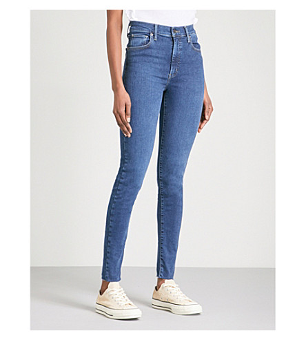 LEVI'S Mile High super-skinny mid-rise jeans (Indigo+infusion
