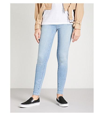 LEVI'S Mile High skinny high-rise jeans (La+la+land