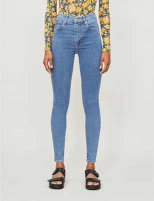Mile High super-skinny extra high-rise jeans