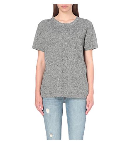 LEVI'S Boyfriend cotton-jersey t-shirt (Francisco sky htr