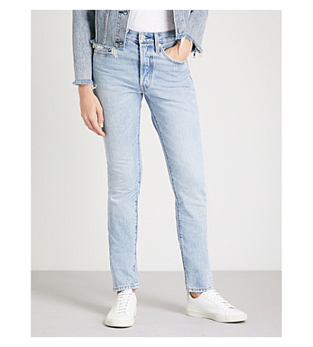 LEVI'S 501 slim-fit skinny high-rise jeans (Lovefool
