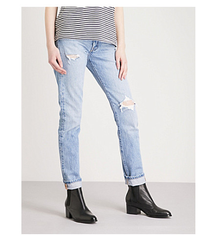 LEVI'S 501 skinny mid-rise jeans (Cant+touch+this