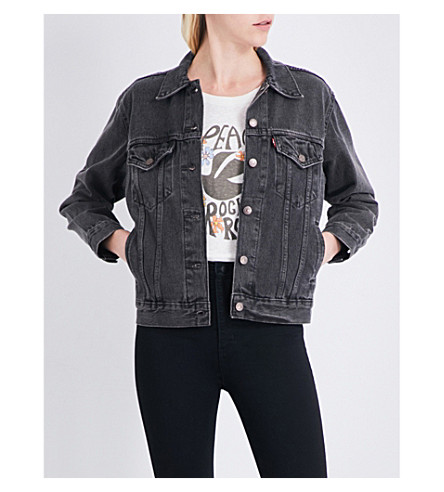 LEVI'S Ex-Boyfriend Trucker denim jacket (Berlin night