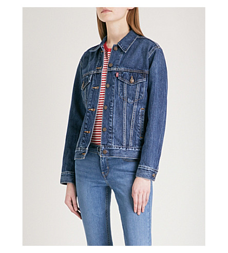LEVI'S Ex-Boyfriend Trucker denim jacket (Stoop+culture