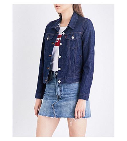 LEVI'S Original Trucker stretch-denim jacket (Love+street