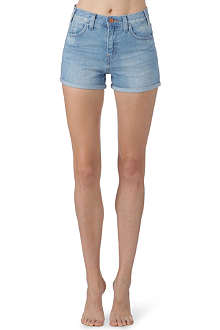 LEVI'S Rolled hem denim shorts