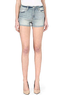 LEVI'S High-rise denim shorts