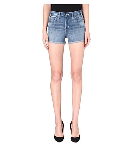 LEVI'S High-rise denim shorts (Seabed