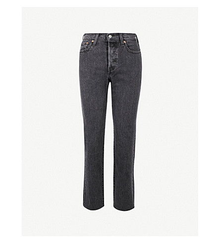 LEVI'S Wedgie straight high-rise jeans (That girl