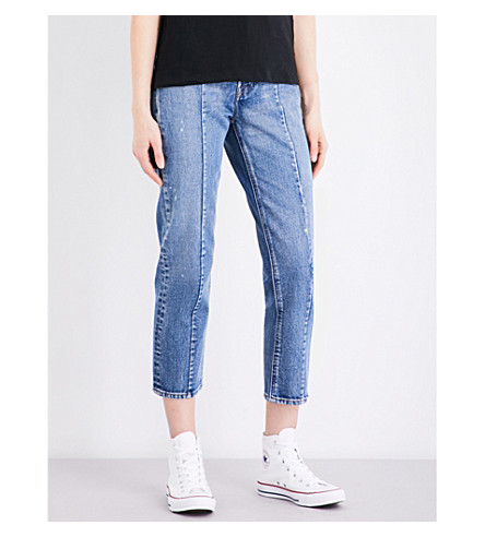 LEVI'S Altered straight high-rise jeans (No limits
