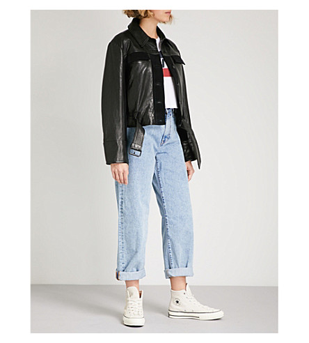 LEVI'S Big Baggy wide-fit straight high-rise jeans (Real+world