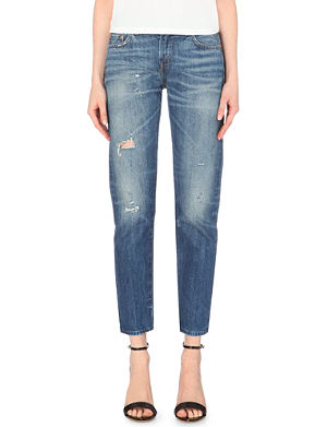 LEVI'S VINTAGE 1967 505 straight high-rise jeans