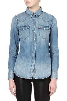 LEVI'S Tailored Western denim shirt
