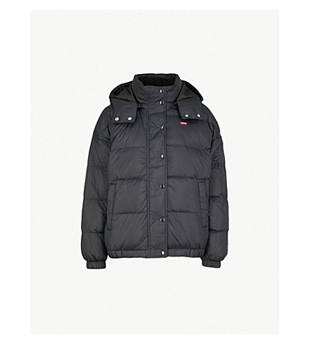 LEVI'S Shell-down puffer jacket (Caviar