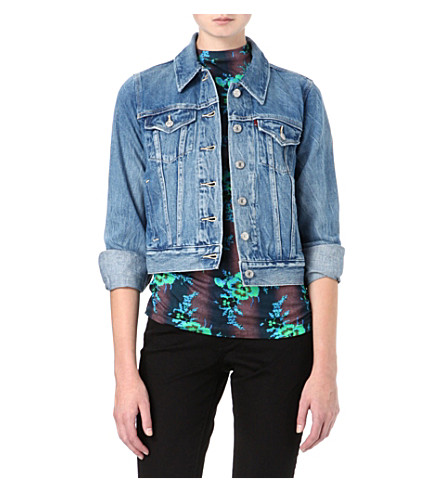 LEVI'S Authentic Trucker denim jacket (Moonshine
