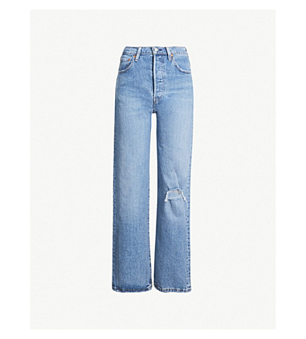 LEVI'S Ribcage high-rise straight jeans (Haters gonna hate