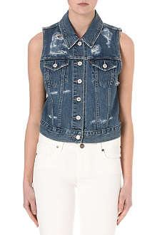 LEVI'S Authentic Trucker denim vest