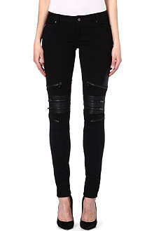 TRIPP NYC Mid-rise zipped knee jeans