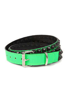 TRIPP NYC Studded leather belt