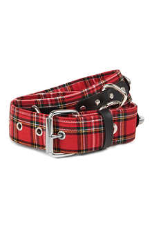 TRIPP NYC Tartan links belt
