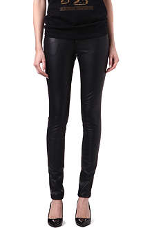 TRIPP NYC Faux-leather trousers