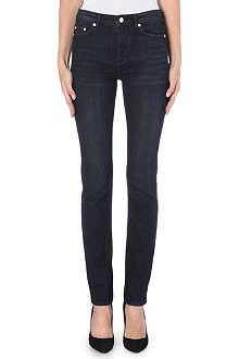 BLK DNM 6 high-rise straight-leg jeans