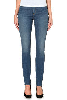 BLK DNM Straight-leg high-rise jeans